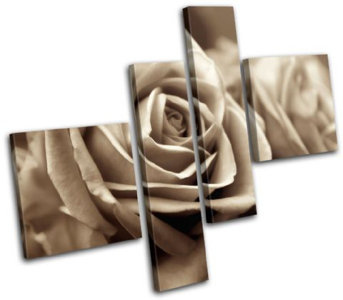 Rose Love Sepia Floral - 13-0009(00B)-MP02-LO